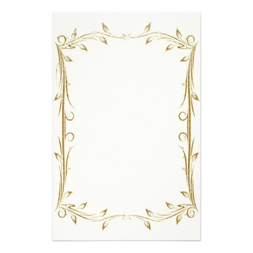 11 gold vintage border designs images vintage gold