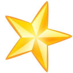 Gold Star Icon Free