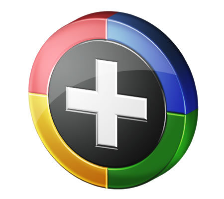 Google Plus Icon Round