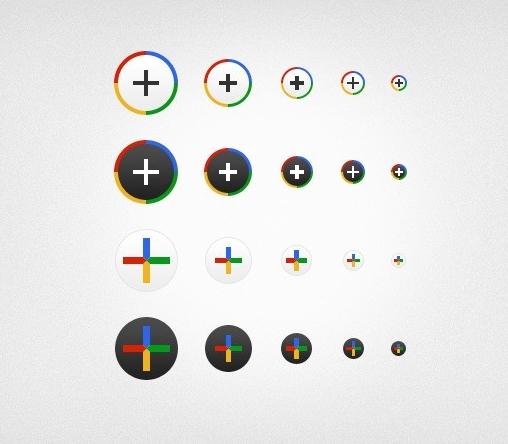 Google Plus Icons Free Download