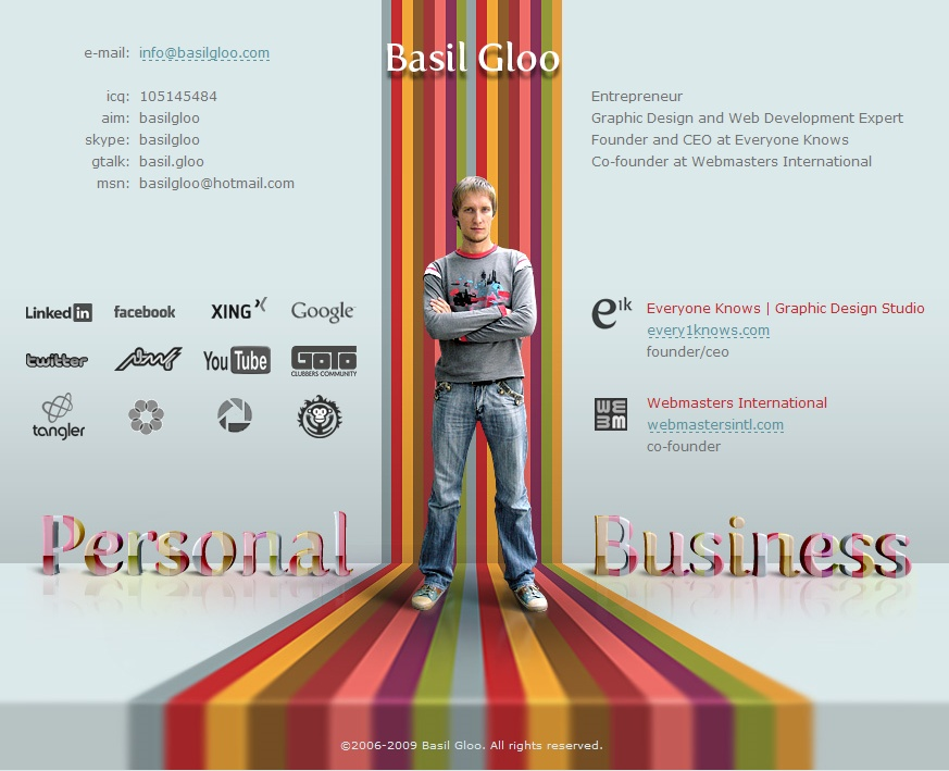 Graphic Design Web Page