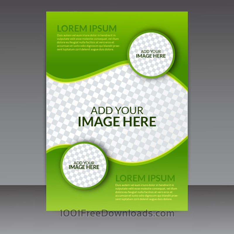 Green Business Flyer Templates Free