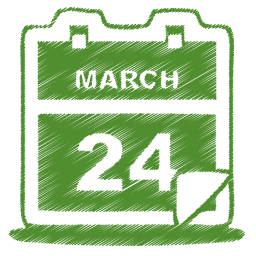 16 Calendar Icon Green Images