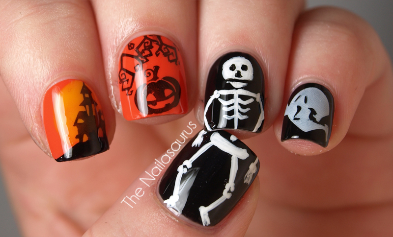 11 Fun Halloween Nail Designs Images
