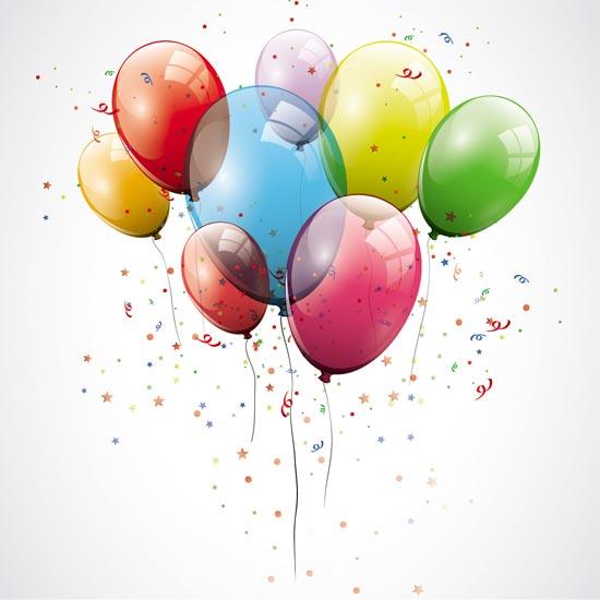 Happy Birthday Balloons