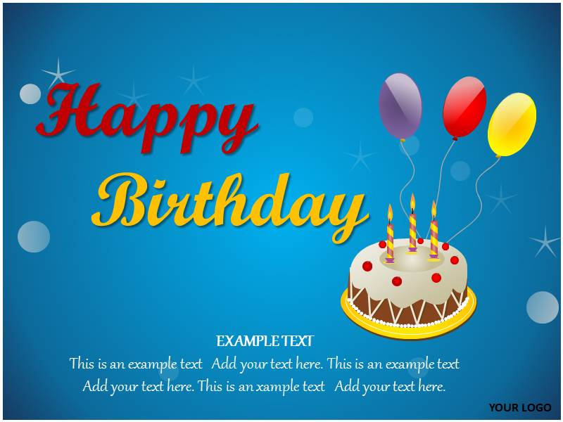 18 birthday powerpoint templates images free birthday