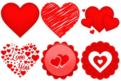 Heart Free Vector Icons