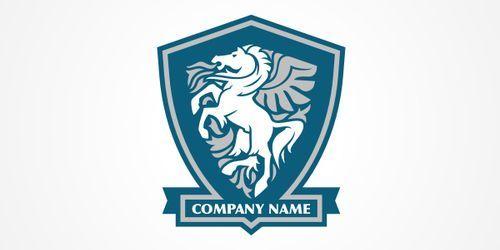 Horse Logo PSD