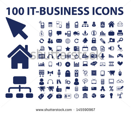 12 Information Technology Services Icons Images