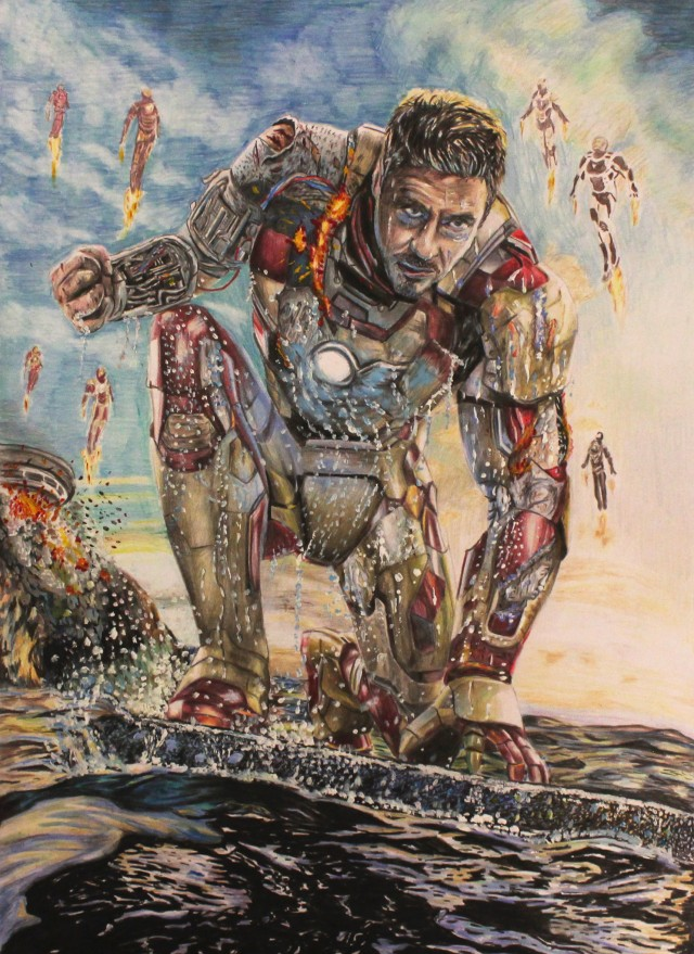 Iron Man 3 Drawings