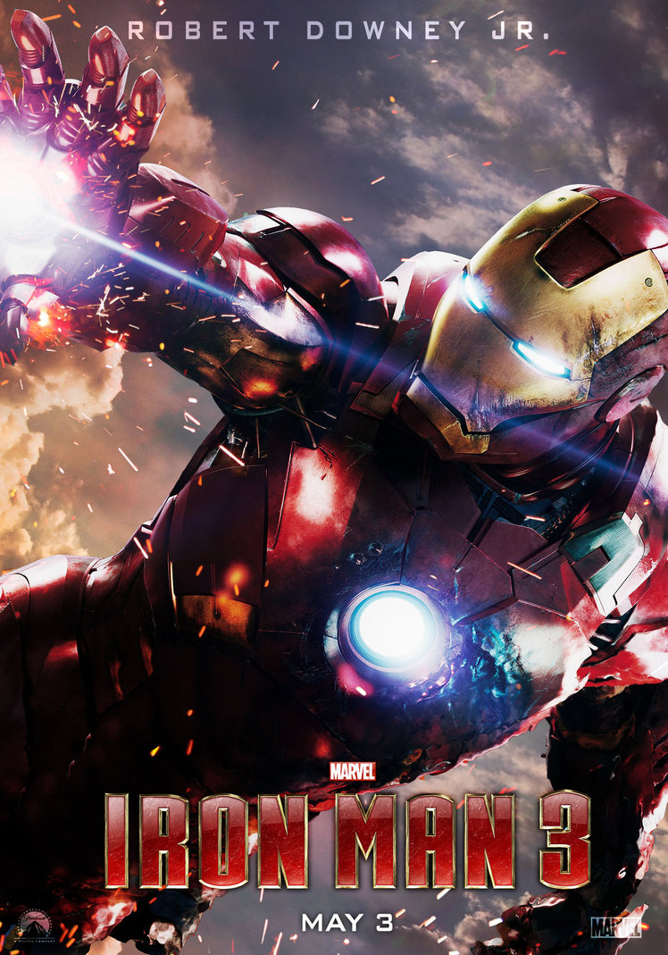 Iron Man 3 Poster Art