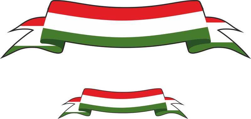 Italian Flag Banner Clip Art