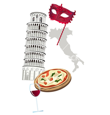 Italian Vector Graphic