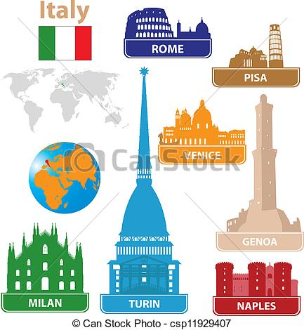 Italy Silhouette Free Clip Art