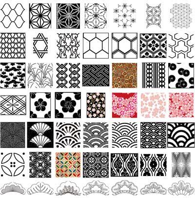 Japanese Geometric Design Patterns