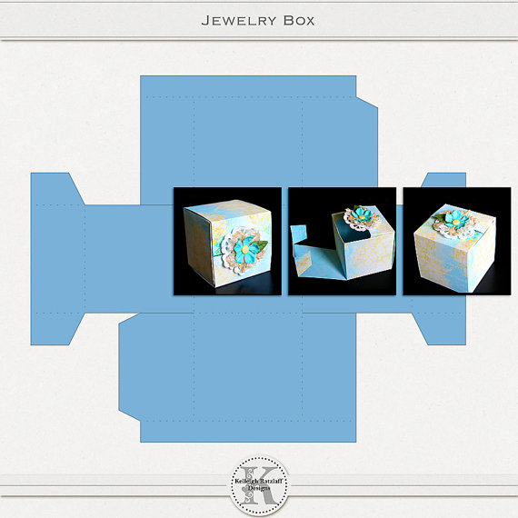 Jewelry Box Svg File