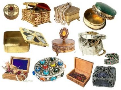 Jewelry Box Template PSD