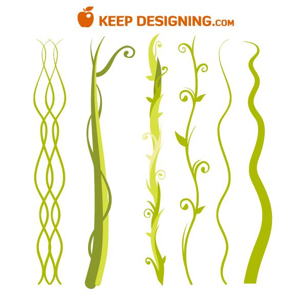 Jungle Vine Clip Art Free