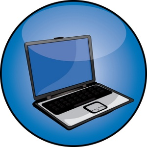 10 Button Icon Computer Monitor Clip Art Images
