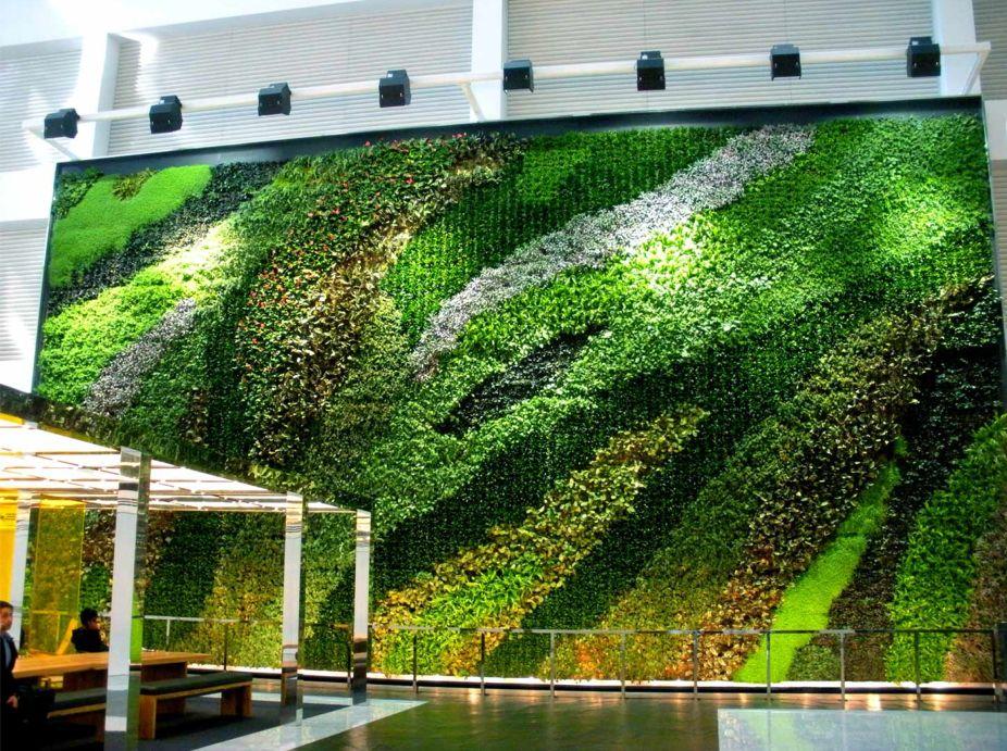 Living Green Wall Interior Plantings