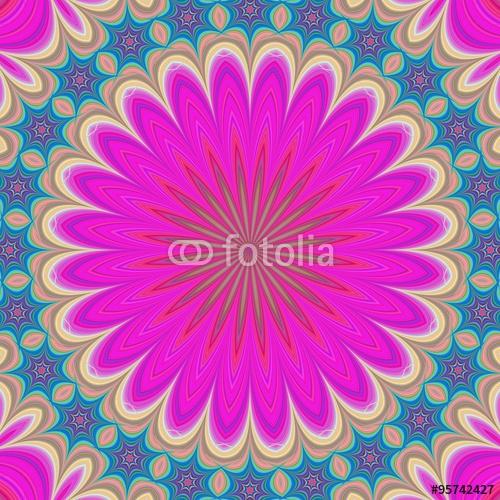 Mandala Flower Geometric
