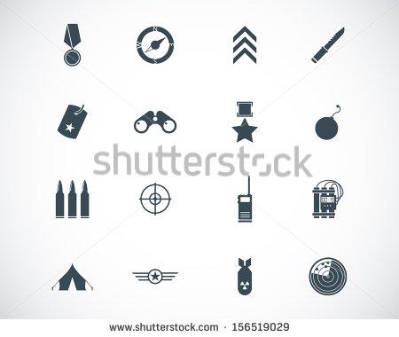 Military Logo Clip Art Vector