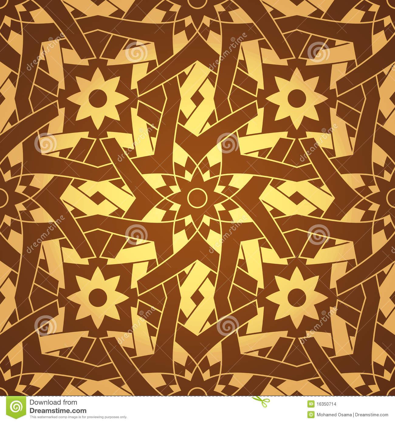Moroccan Pattern Vector Flower