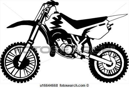 Motorcycle Dirt Bike Clip Art