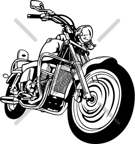 Motorcycle Vector Clip Art