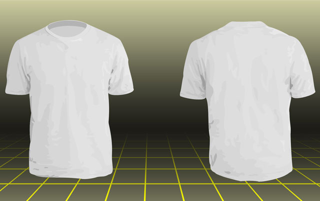 16 Free T-Shirt Template Photoshop Images