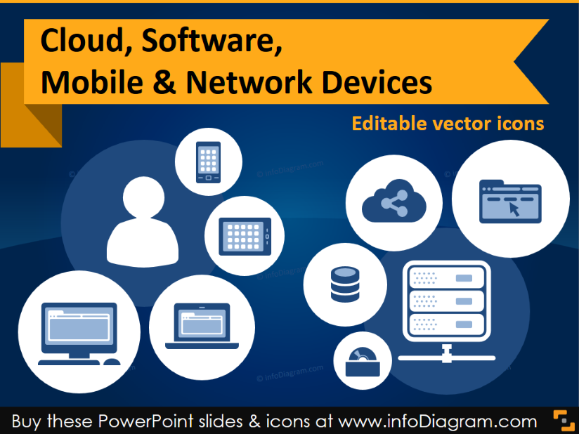 PowerPoint Network Icons
