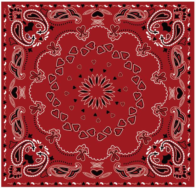 17 Bandana Pattern Vector Images