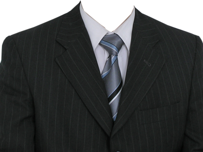 Suit Template Photoshop