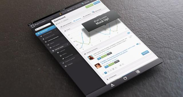 Tablet Mockup PSD