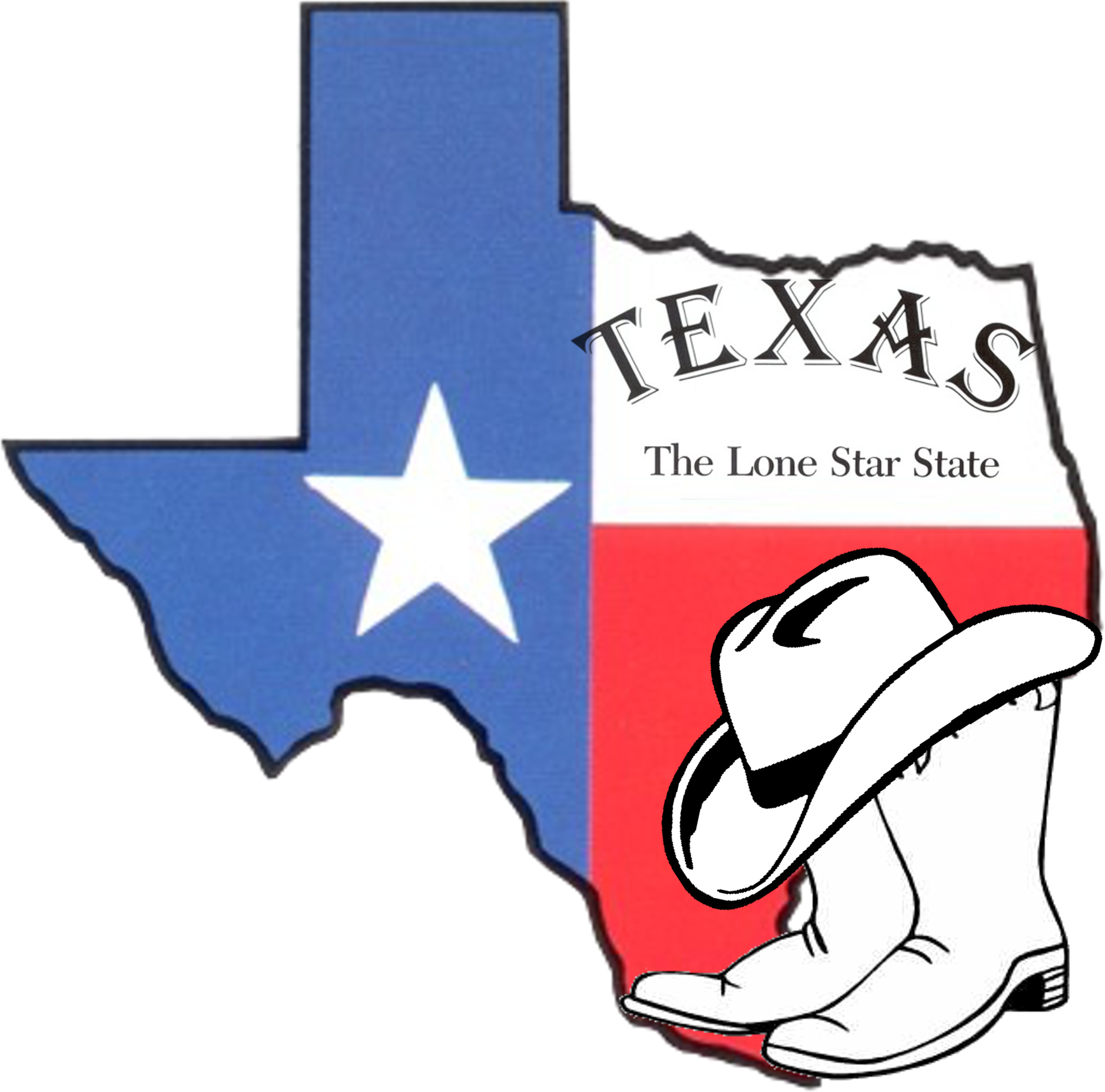 Texas State Clip Art Free