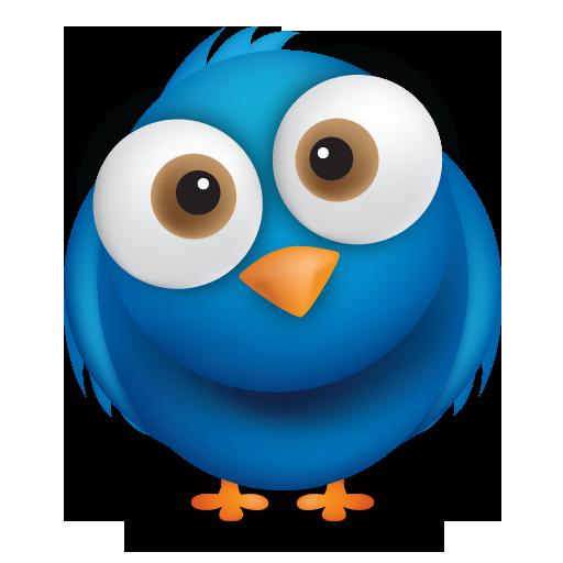 11 Free Twitter Bird PSD Images
