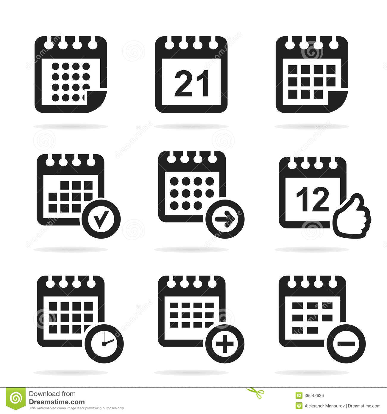 Calendar Icon Vector : Calendar icon vector free download images