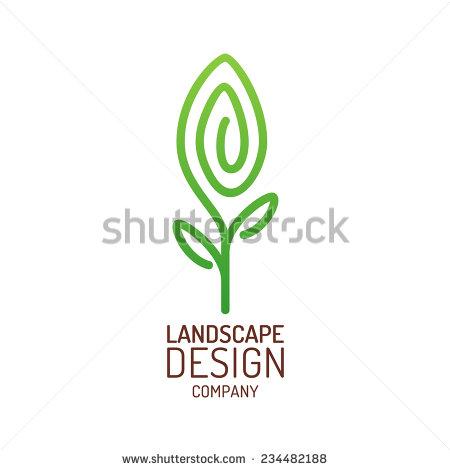 Vector Landscape Logo Design