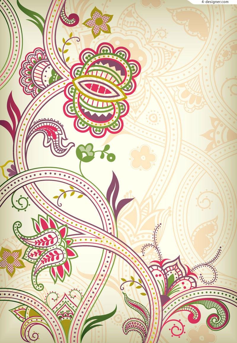 Vine Flower Design