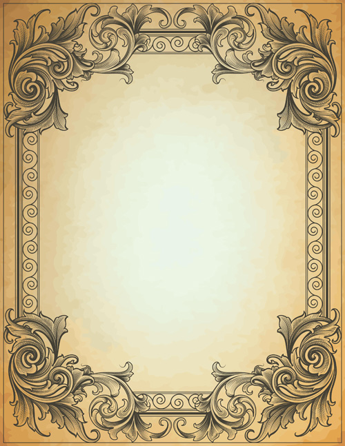 17 Vintage Border Frames For Photoshop Images - Free ...