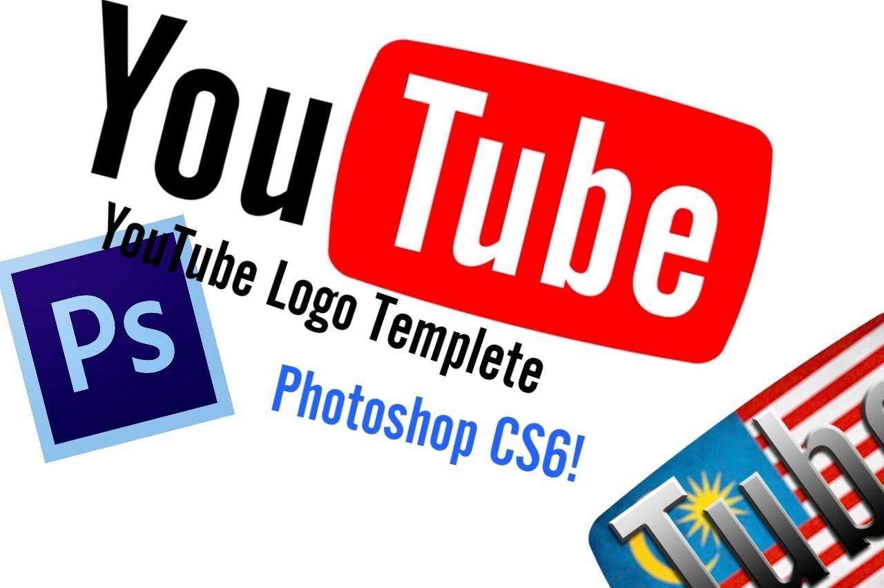YouTube Logo Photoshop Template