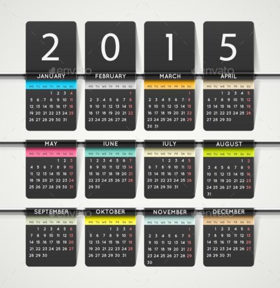Fancy Calendar Psd Template Elaboration Professional Resume