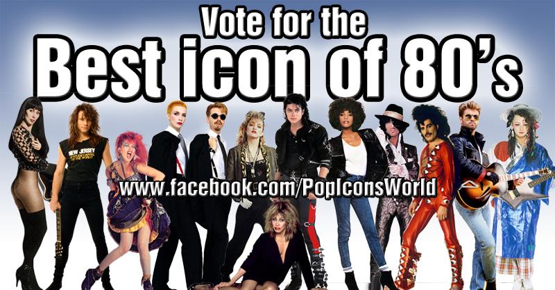 80s Pop Icons