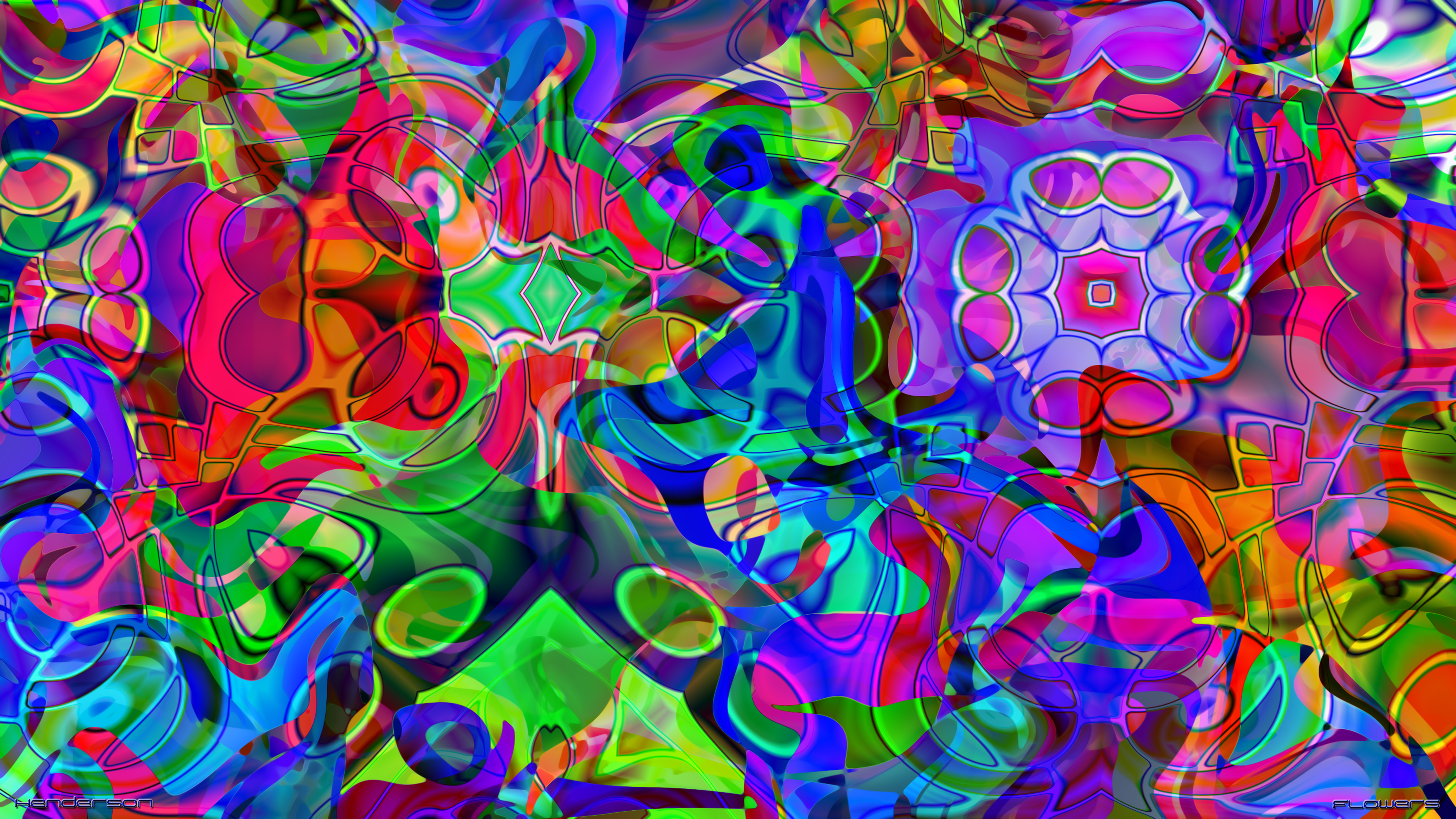 12 modern art flower graphics images abstract flower art for Abstract art flowers paintings