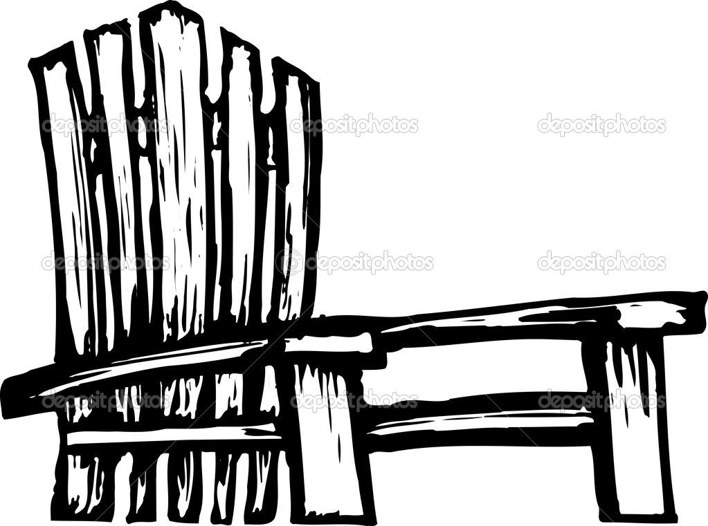 14 Adirondack Chair Silhouette Vector Images - Adirondack ...
