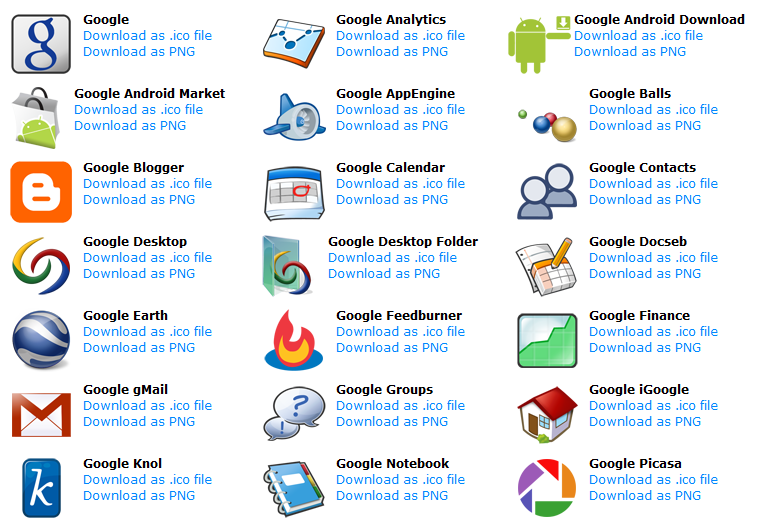Android Icon Packs