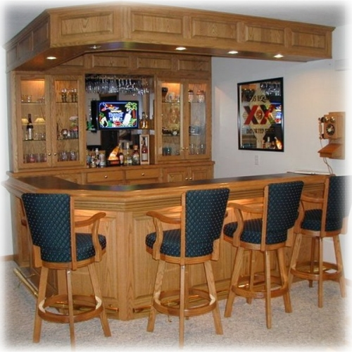 Back Bar Design Plan