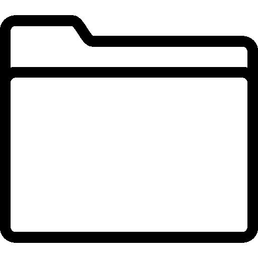 Basic File Folder Icon PNG