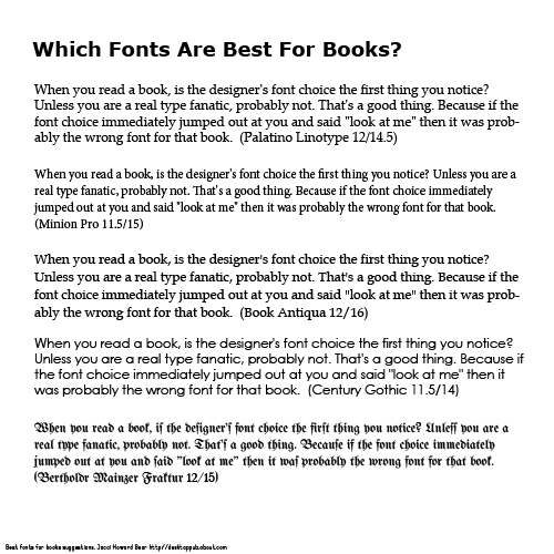 acceptable research paper fonts What is the largest font face acceptable for essays it has to be size 12 but no particular font face large fonts for papers source(s): https.