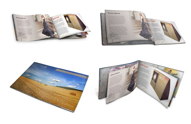 Book Cover Free Psd Mockups for Portfolio
